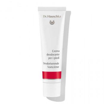 Dr.Hauschka Balsamo deodorante per i piedi - Crema deodorante contro la sudorazione dei piedi, senza sali di alluminio