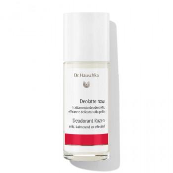Deodorante roll-on privo di alluminio, Dr. Hauschka Deolatte rosa